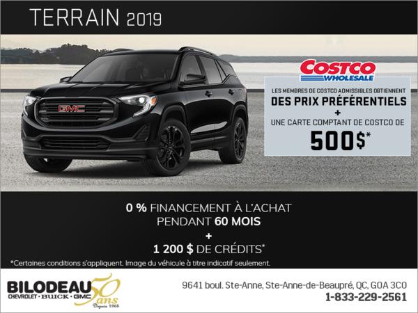Le GMC Terrain 2019