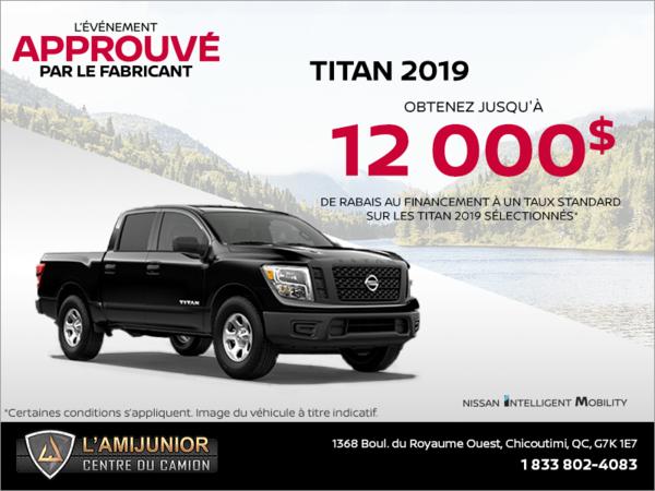 Louez le Nissan Titan 2019 dès aujourd'hui!