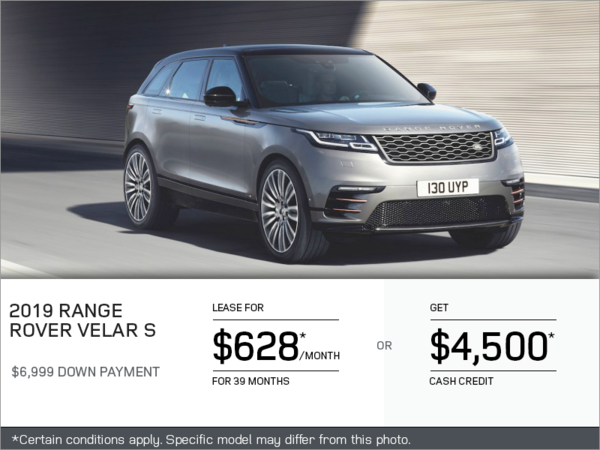 The 2019 Range Rover Velar S
