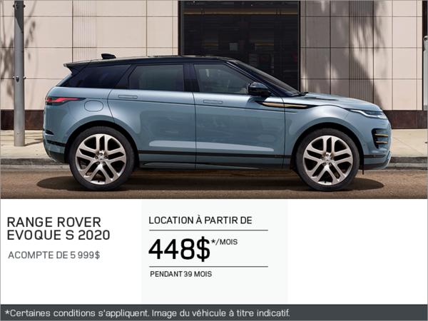 Le Range Rover Evoque S 2020