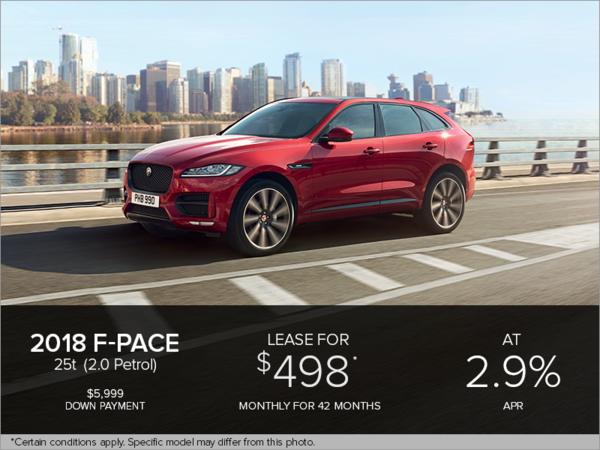 The 2018 F-Pace Premium 25t