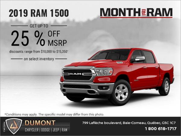 Get the 2019 RAM 1500