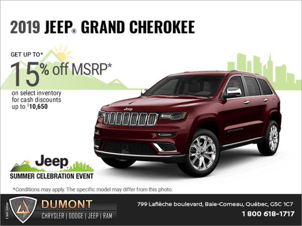 Get the 2019 Jeep Grand Cherokee!