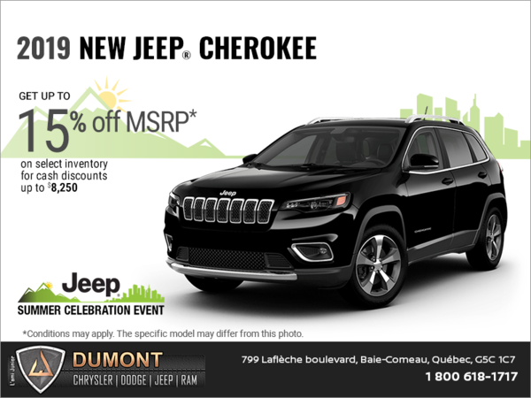 Get the 2019 Jeep Cherokee!