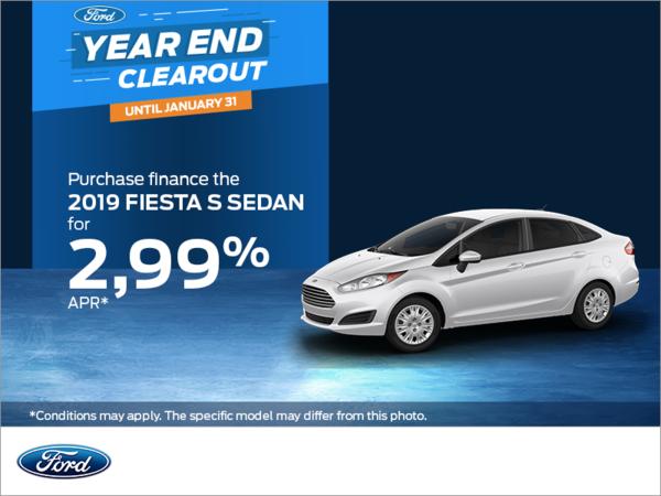 2019 Ford Fiesta Sedan