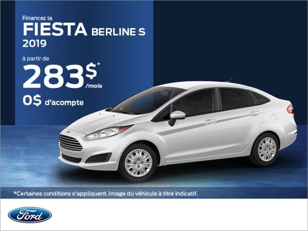 Ford Fiesta Berline 2019