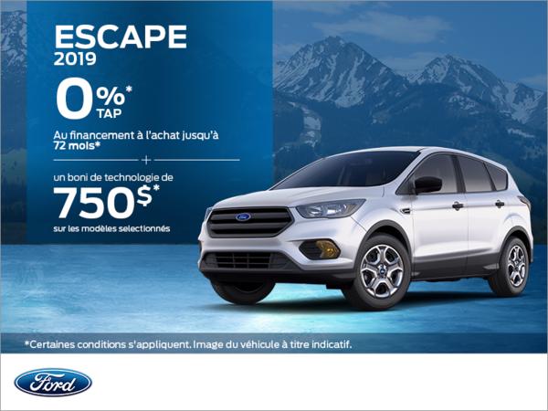 Ford Escape 2019!