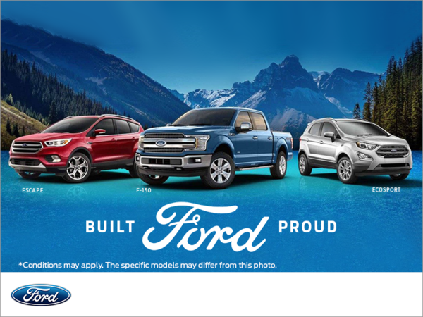 Built Ford Proud Event