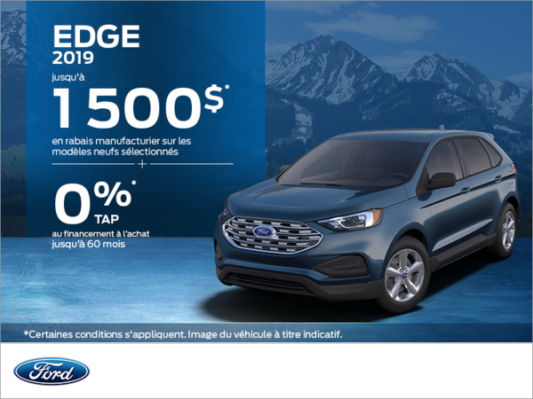 Ford Edge 2019!