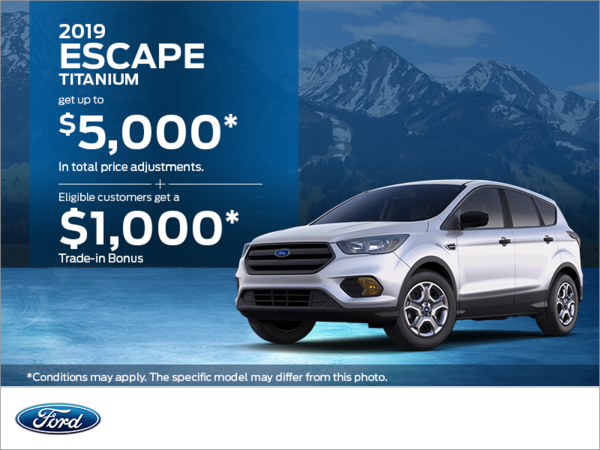 2019 Ford Escape!
