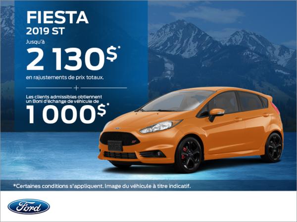 Ford Fiesta 2019!
