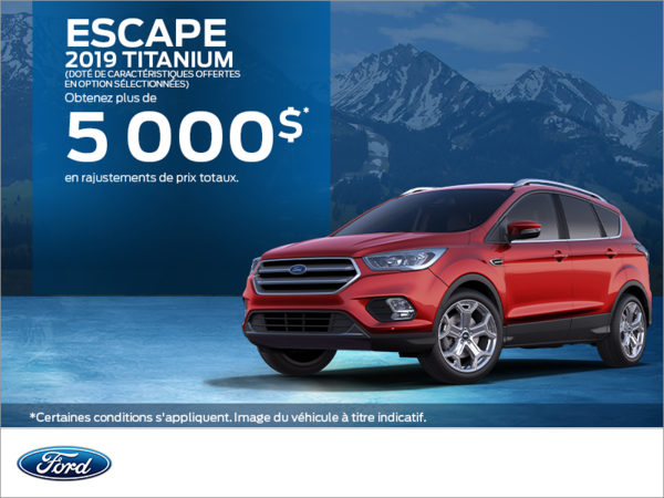 Ford Escape 2019!