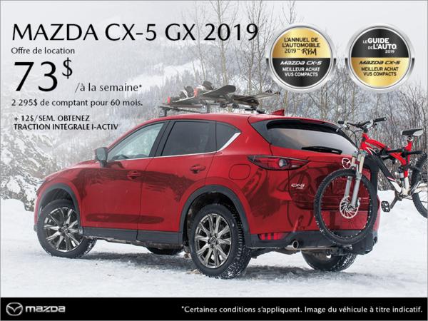 Mazda Gabriel St-Laurent - Procurez-vous la Mazda CX-5 2019!