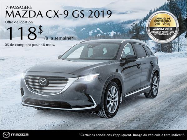 Duval Mazda - Procurez-vous la Mazda CX-9 2019!