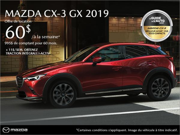 Duval Mazda - Procurez-vous le Mazda CX-3 2019!