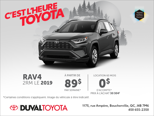 Toyota RAV4 2019