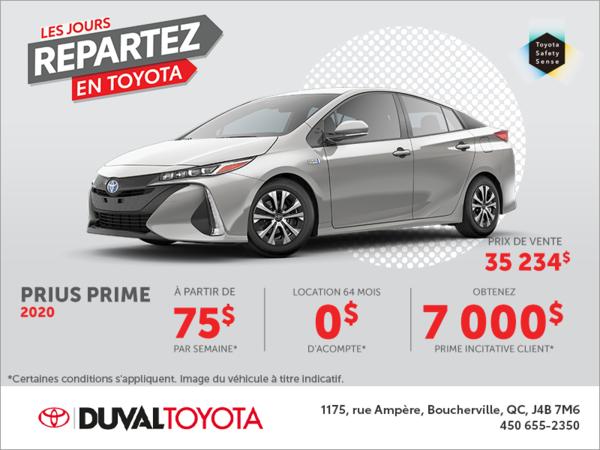 Toyota Prius Prime 2020