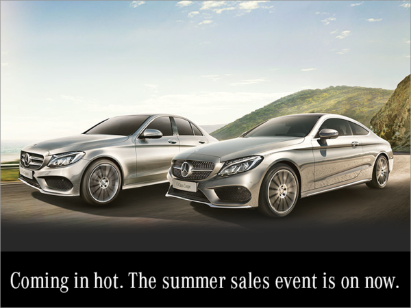 The Summer Sales Event