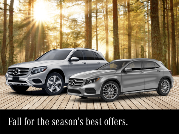 Fall for the season's best offers.
