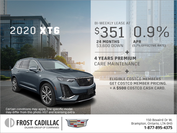 Frost Cadillac | Special Offers in Brampton