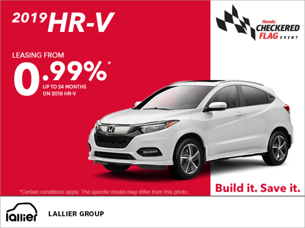 Lease the 2019 Honda HR-V!