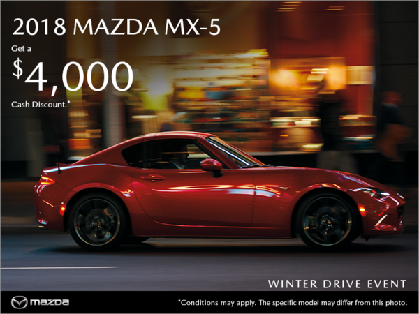 Gerry Gordon's Mazda - Get the 2018 Mazda MX-5 today!