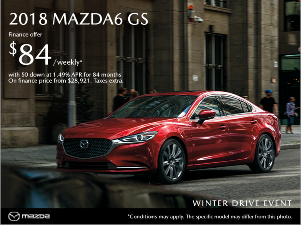 Gerry Gordon's Mazda - Get the 2018 Mazda6 today!