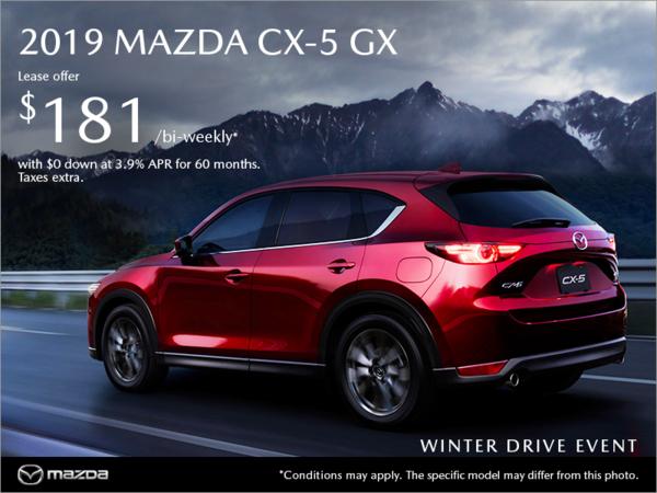 Gerry Gordon's Mazda - Get the 2019 Mazda CX-5 today!