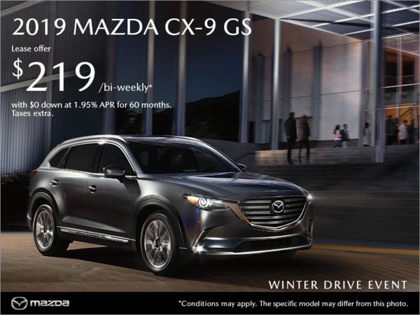 Forman Mazda - Get the 2019 Mazda CX-9 today!