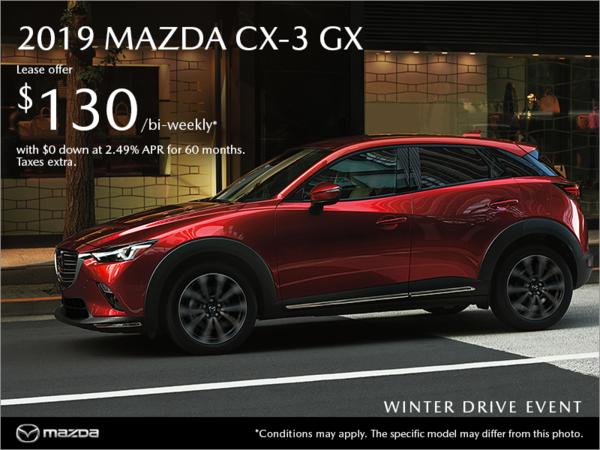 Gerry Gordon's Mazda - Get the new 2019 Mazda CX-3 today!