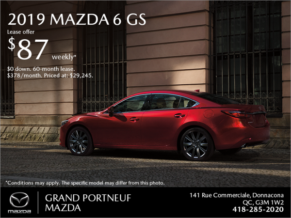 Get the 2019 Mazda6!