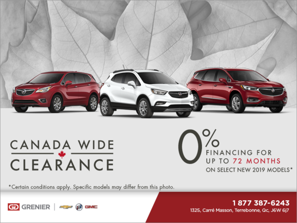Canada Wide Clearance!
