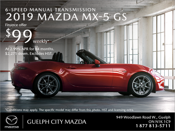 Get the 2019 Mazda MX-5 Today!