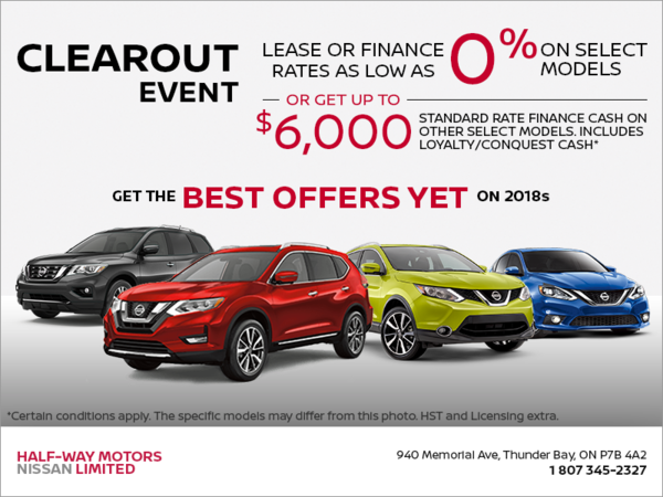 The Nissan Clearout Event!
