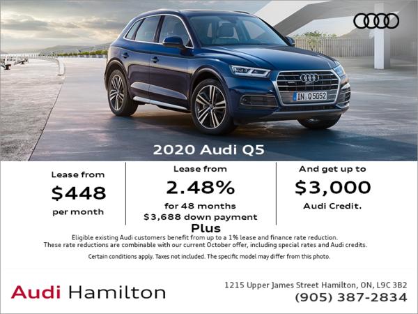 Audi Hamilton | The 2021 Q5 Progressiv