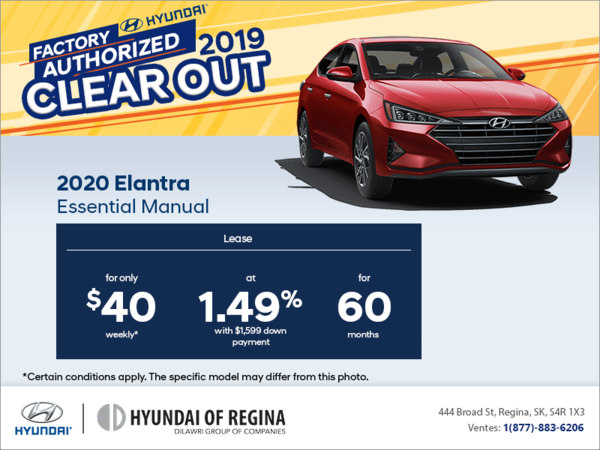 Lease the 2020 Elantra!