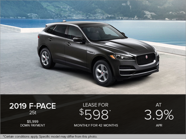The 2019 F-Pace 25t