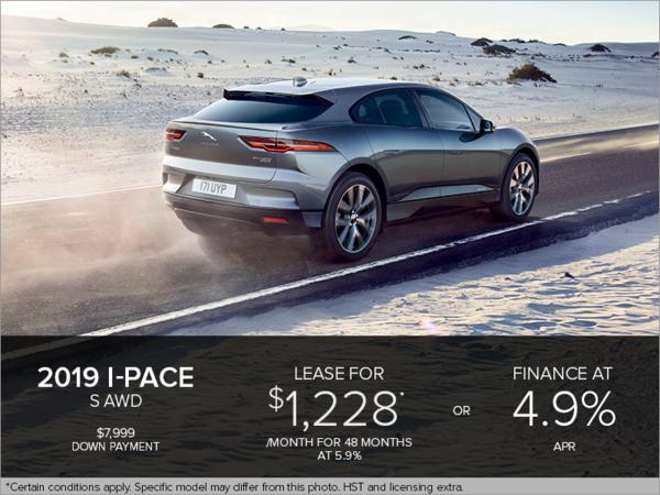 The 2019 Jaguar I-PACE