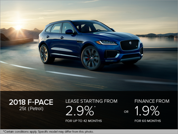 The 2018 F-PACE