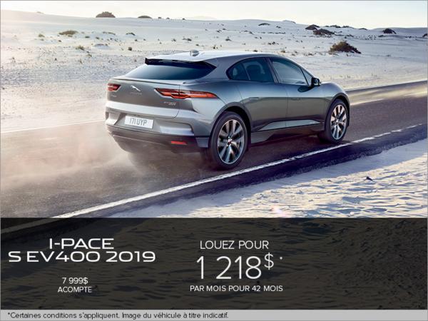 La Jaguar I-PACE S EV400 2019