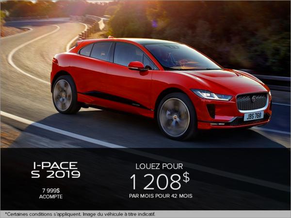 Le Jaguar I-PACE S EV400 2019