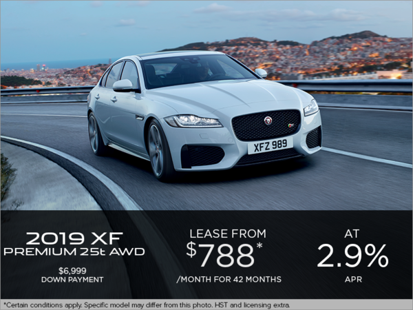 The 2019 Jaguar XF Premium 25t AWD