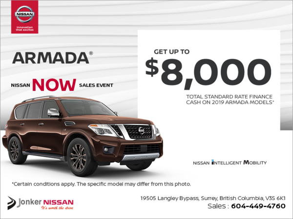 Get the 2019 Nissan Armada