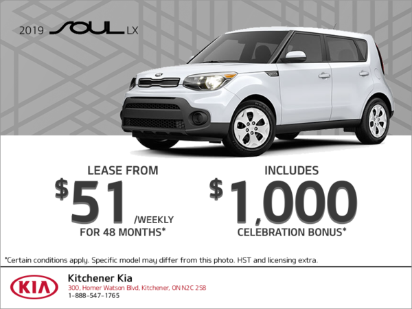 Lease the 2019 Kia Soul