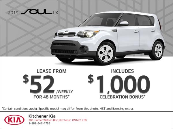 Get the 2019 Kia Soul