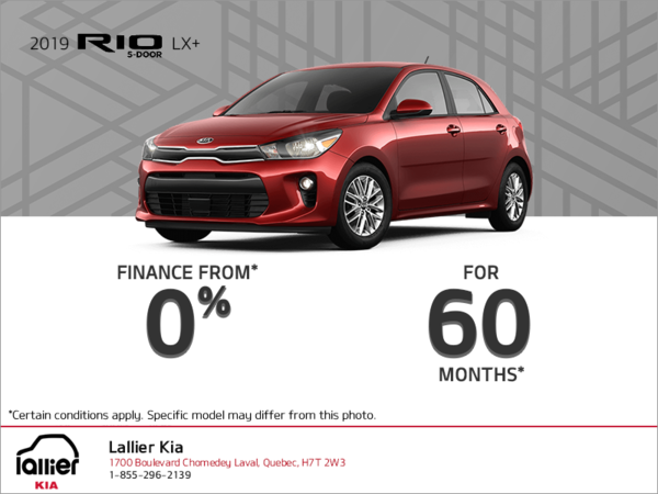 Get the 2019 Kia Rio 5-Door!