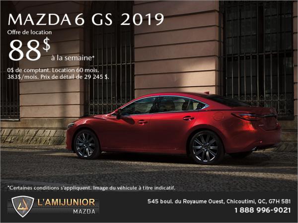 Procurez-vous la Mazda6 2019!