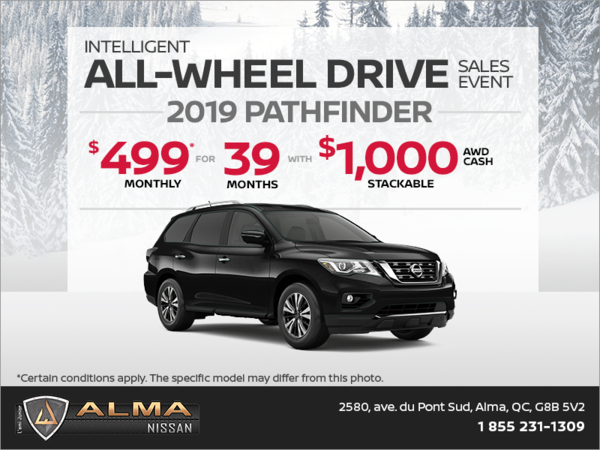 Get the 2019 Pathfinder today!