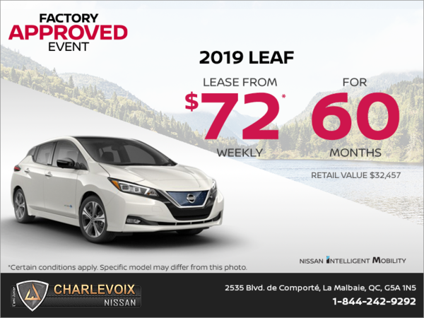 2019 Nissan Leaf S Plus Starting At 35041 Lami Junior Nissan