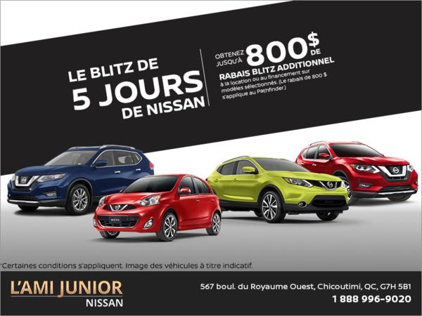 L'événement Mon Choix de Nissan